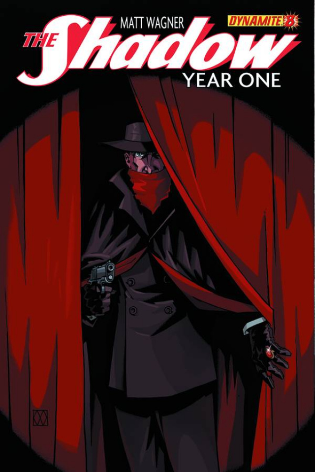 The Shadow: Year One #8 (Wagner Cover)