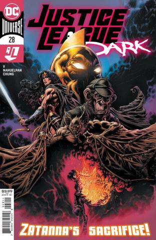 Justice League Dark #28 (Kyle Hotz Cover)