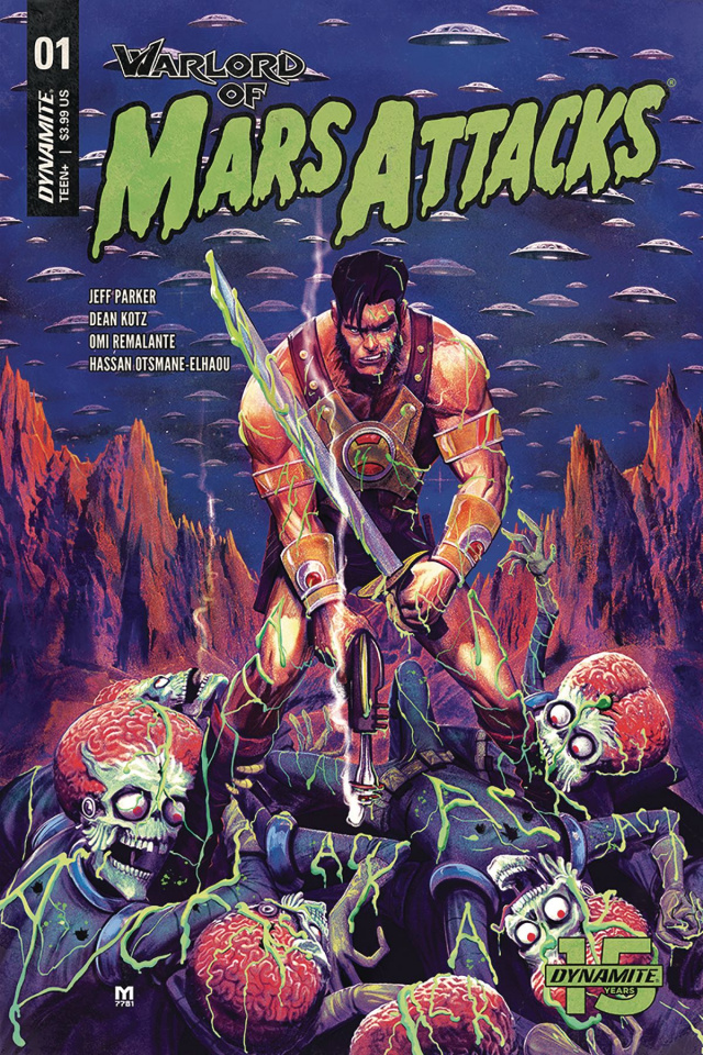 Warlord of Mars Attacks #1 (D'Alfonso Cover)