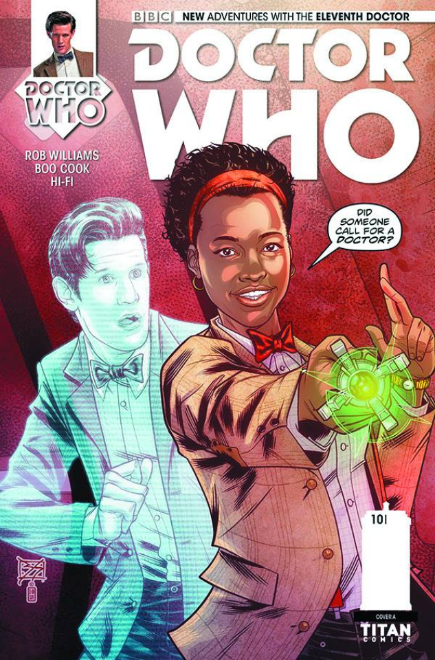 Doctor Who: New Adventures with the Eleventh Doctor #10 (Shedd Cover)