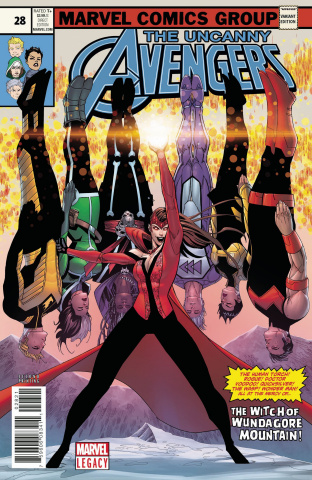 Uncanny Avengers #28 (Malin 2nd Printing)