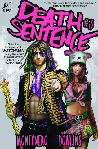 Death Sentence #3 (2nd Printing)