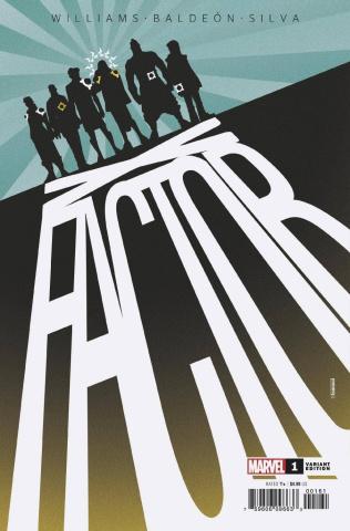 X-Factor #1 (Baldeon Cover)