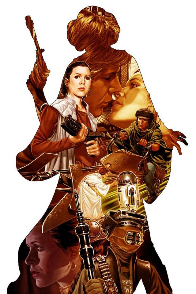 Princess Leia #1 (Brooks Cover)