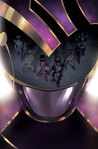 Mighty Morphin' Power Rangers #37 (Mercado Cover)