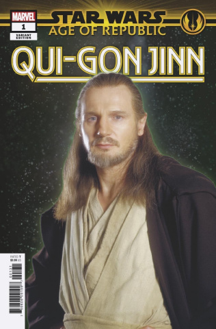 Star Wars: Age of Republic - Qui-Gon Jinn #1 (Movie Cover)