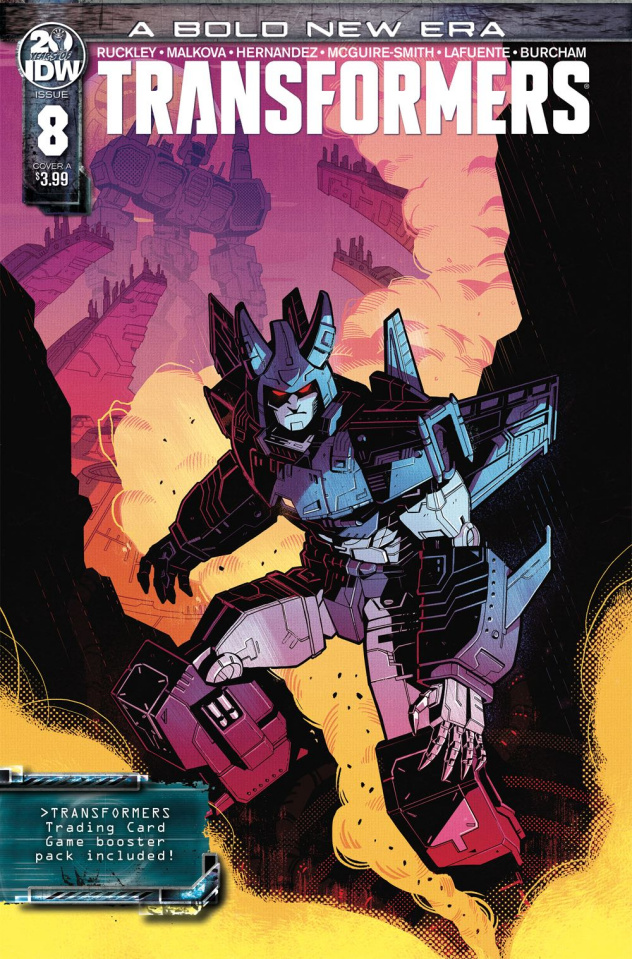 The Transformers #8 (Malkova Cover)