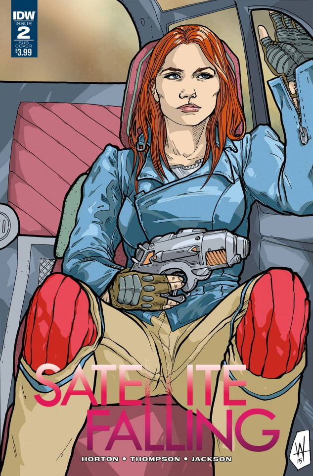 Satellite Falling #2 (Subscription Cover)