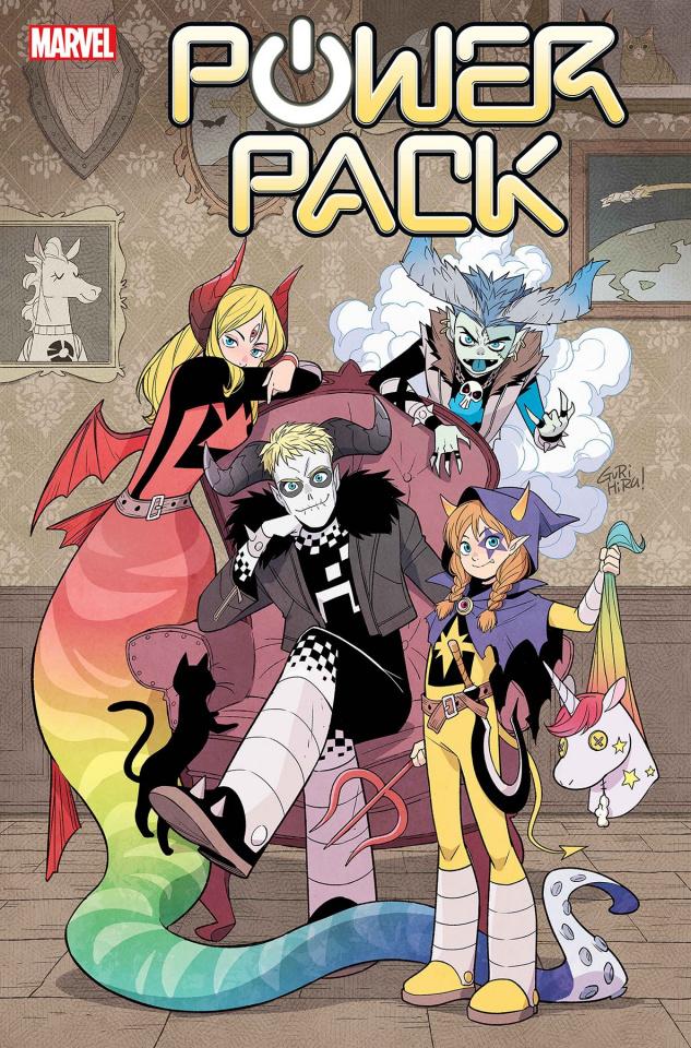 Power Pack #2 (Gurihiru Dark Marvel Cover)