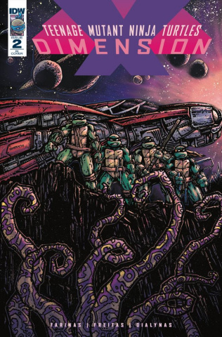 Teenage Mutant Ninja Turtles: Dimension X #2 (10 Copy Cover)