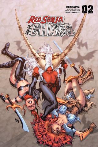 Red Sonja: Age of Chaos #2 (Lau Bonus Cover)