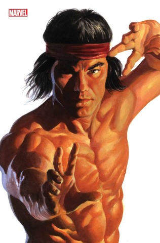 Shang-Chi #2 (Alex Ross Shang-Chi Timeless Cover)