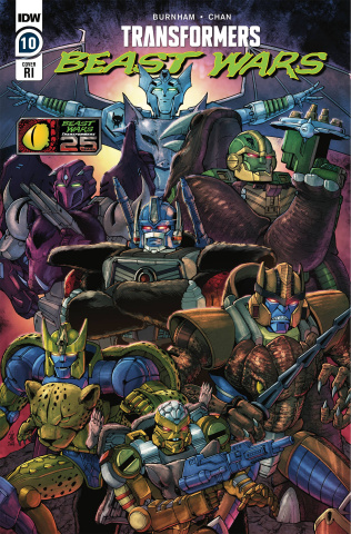 Transformers: Beast Wars #10 (10 Copy Coller Cover)