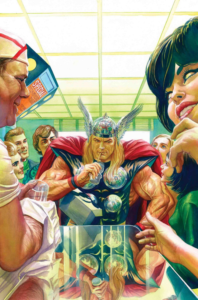 Thor #13 (Alex Ross Marvels 25th Anniversary Cover)