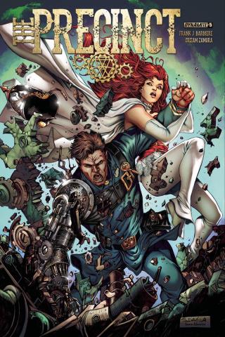 The Precinct #5 (Davila Cover)