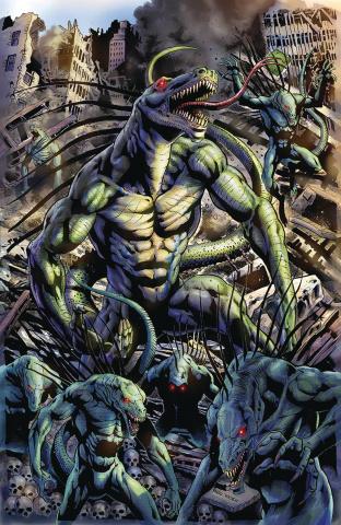 Monster Planet #5 (Jansen Cover)