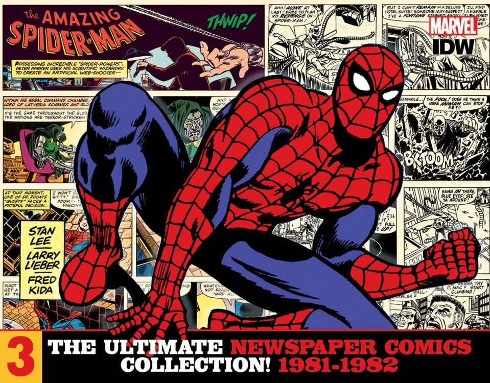 The Amazing Spider-Man: The Ultimate Newspaper Comics Collection Vol. 3: 1981-1982