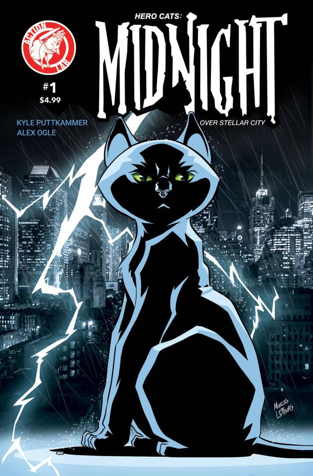 Hero Cats: Midnight Over Stellar City #1 (Williams Cover)