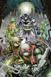 Batman / Teenage Mutant Ninja Turtles #1 (Director's Cut)