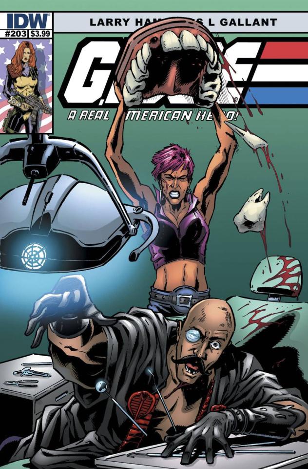 G.I. Joe: A Real American Hero #203