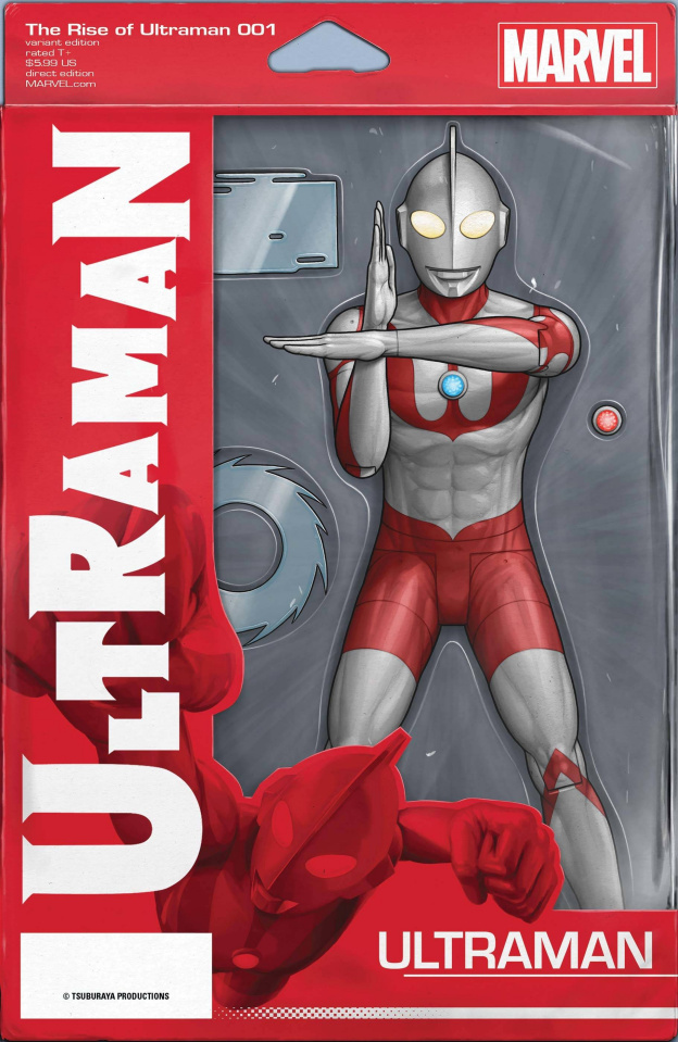 The Rise of Ultraman #1 (Christopher Action Figure Cover)