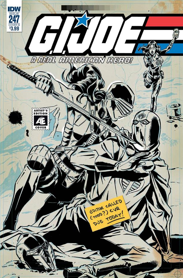 G.I. Joe: A Real American Hero #247 (Ed Gallant Cover)