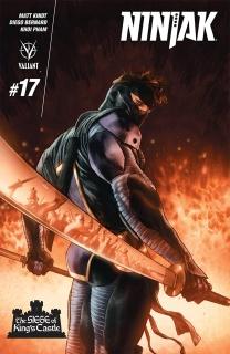 Ninjak #17 (Larosa Cover)