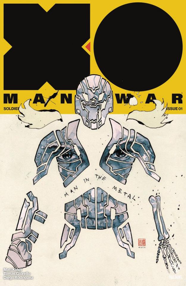 X-O Manowar #3 (50 Copy Mack Cover)