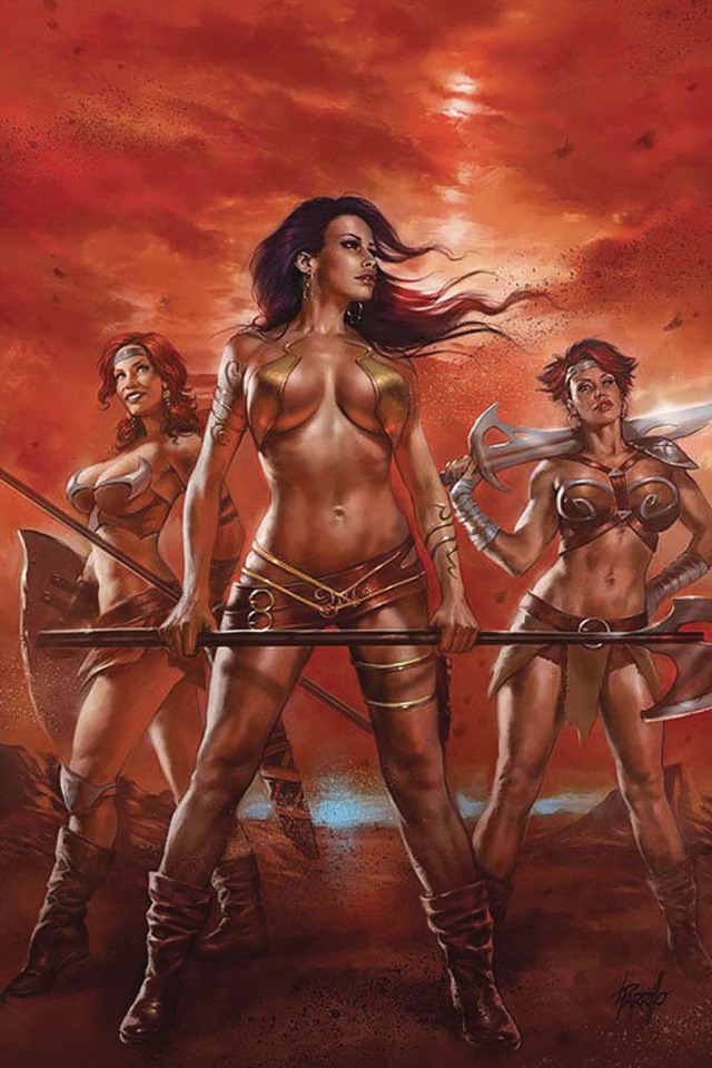 Dejah Thoris #2 (Parrillo Virgin Cover)