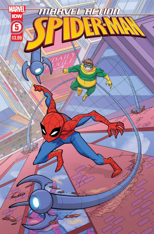 Marvel Action: Spider-Man #5 (Murphy Cover)