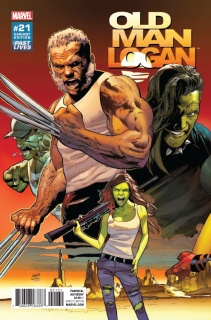 Old Man Logan #21 (Land Past Lives Cover)