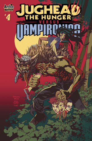 Jughead: The Hunger vs. Vampironica #4 (Pat & Tim Kennedy Cover)
