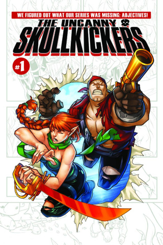 The Uncanny Skullkickers #1 (Huang & Coats Cover)