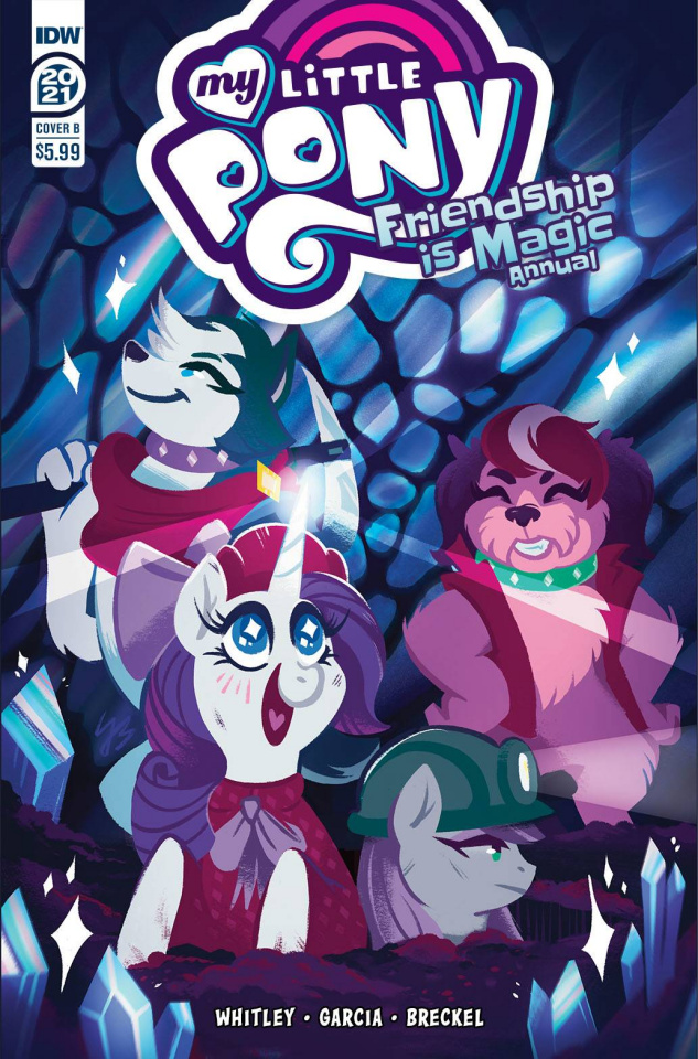 My Little Pony: Friendship Is Magic 2021 Annual (JustaSuta Cover)