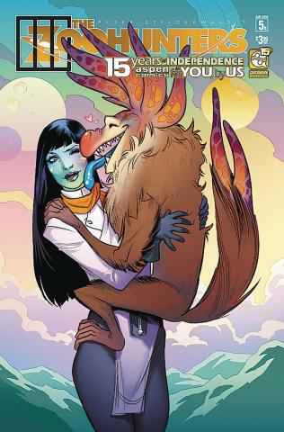 The Zoohunters #5 (Andolfo Cover)