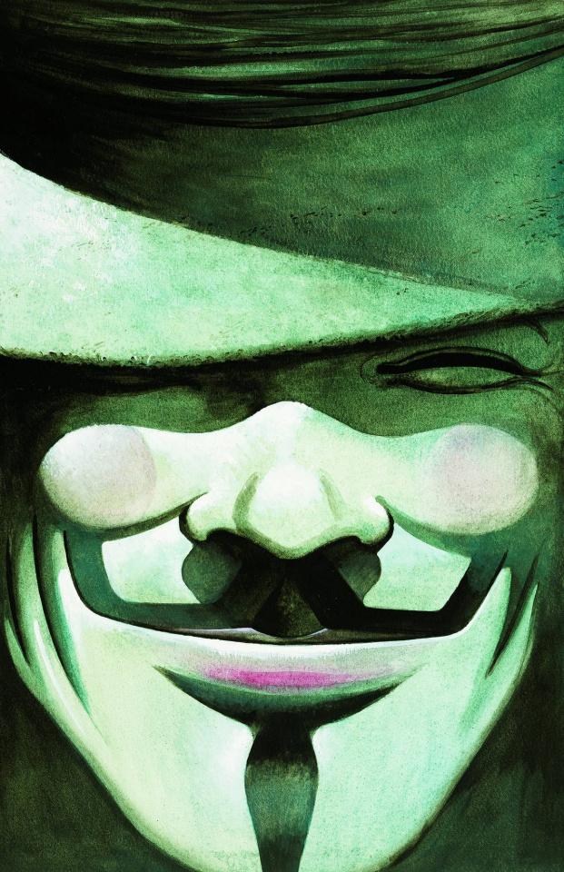 DC Essentials: V For Vendetta # 1