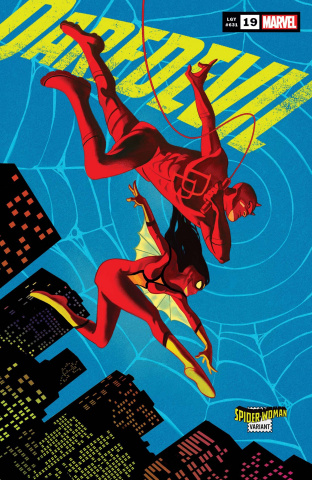 Daredevil #19 (Del Mundo Spider-Woman Cover)
