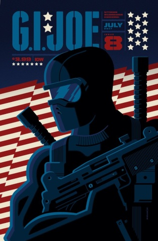 G.I. Joe #8 (Whalen Cover)
