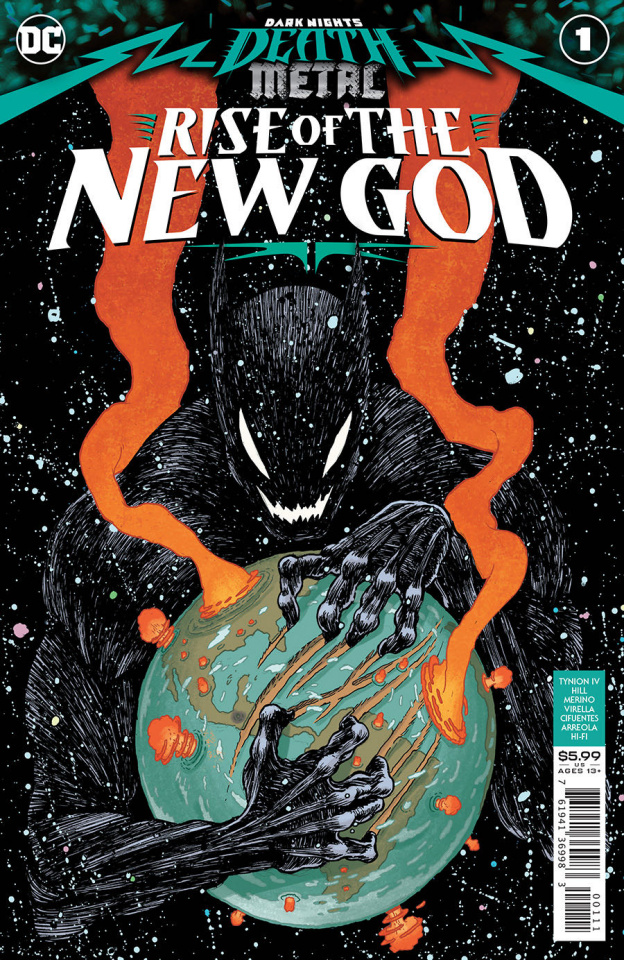Dark Nights: Death Metal - Rise of the New God #1 (Ian Bertram Cover)