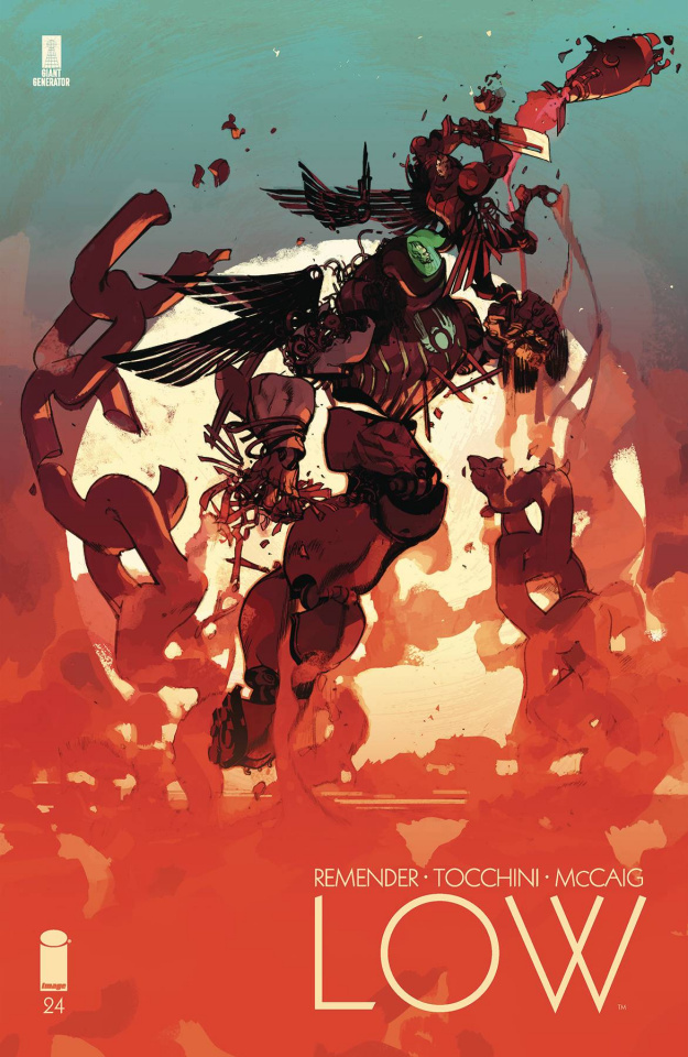 Low #24 (Tocchini & McCaig Cover)