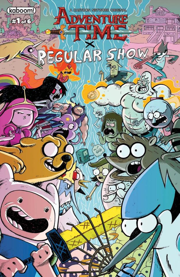 Adventure Time: Regular Show #1 (Subscription Corona Cover)