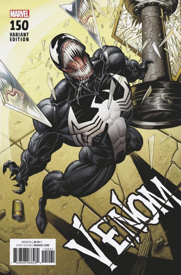 Venom #150 (Bagley Remastered Cover)