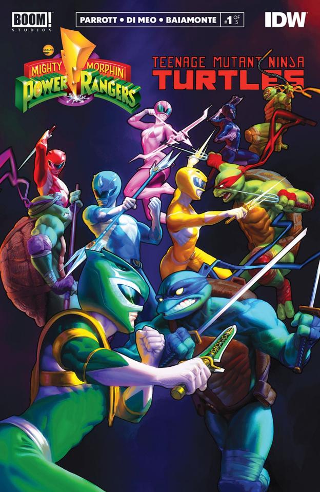 Power Rangers / Teenage Mutant Ninja Turtles #1 (3rd Printing)