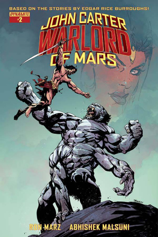 John Carter: Warlord of Mars #2 (Sears Cover)