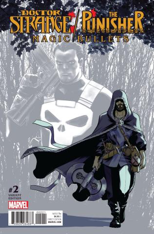 Doctor Strange / The Punisher: Magic Bullets #2 (Variant Cover)
