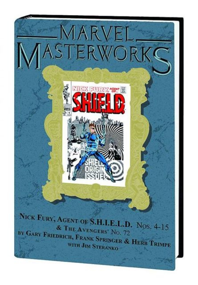Nick Fury Agent of S.H.I.E.L.D. Vol. 3 (Marvel Masterworks)