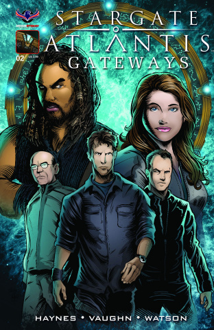 Stargate Atlantis: Gateways #2 (Subscription Cover)