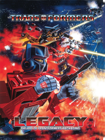 Legacy: The Art of Transformers Packaging
