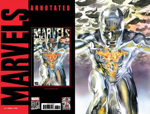 Marvels: Annotated #3 (Alex Ross Virgin Cover)
