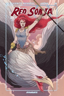 Red Sonja #6 (Sauvage Cover)